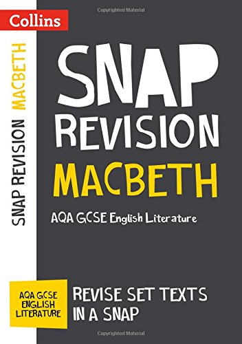 Macbeth: AQA GCSE 9-1 English Literature Text Guide (Collins GCSE 9-1 Snap Revision) por Collins GCSE