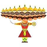 Toiing Craftoi 3D DIY Paper Craft Toy - Raavan