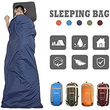 CAMTOA® ultraleicht, klein, warm Schlafsack Hüttenschlafsack, Outdoor Wasserdicht Camping Sleeping Bag Sommerschlafsack