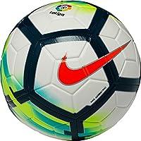 Nike LL NK Strk Balón de Fútbol, Blanco/(White/Turquoise/Seaweed/Total Orange), 5