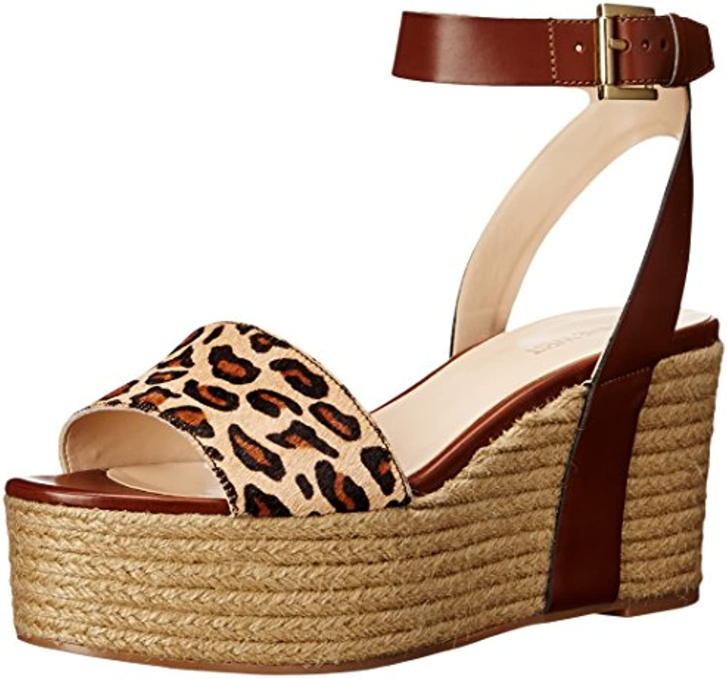 Nine West WoHommes 's Synthetic Edoile Synthetic 's Wedge SandalB017JIX6KGParent 4609e6