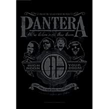 Pantera High Noon Your Doom Oficialmente Negro Textile Flag Póster (75cm x 110cm)