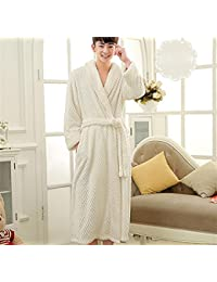 bf769e7d67 pengweiWinter models flannel nightgown robes men and women plus lengthened  yards pajamas