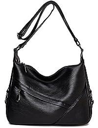 migliori scarpe da ginnastica d6fa4 48cfb Amazon.it: borsa nera tracolla pelle: Scarpe e borse