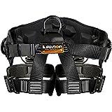 Fusion Fusion Climb Spartacus Heavy Duty Half Body Rigging Harness Black Size S-M