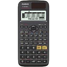 Casio ClassWiz FX-87DE X technischer wissenschaftlicher Schulrechner (593 Funktionen, QR-Code Funktion, LC-Display)schwarz