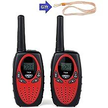Walkie Talkies, 2unidades inalámbrica Interphone 22canal 2way Radio hasta 3millas Handheld Walkie Talkie para niños adultos