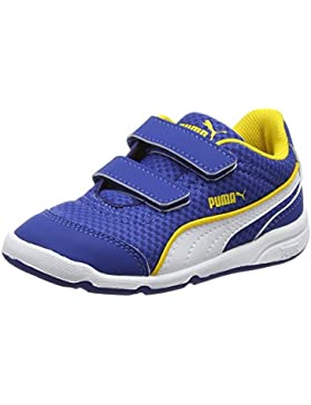 Puma Unisex-Kinder Stepfleex Mesh V Inf Low-Top