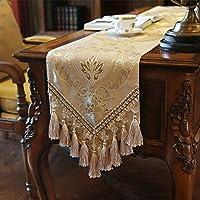 corridore tavolo moderno/Flags of tavolo da pranzo di lusso di stile europeo/Armadietto laterale corridore/tavolo/corridore TV/panno che copre-E 30x200cm(12x79inch)