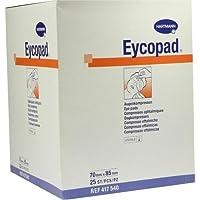 EYCOPAD Augenkompressen 70x85 mm steril 25 St Kompressen preisvergleich bei billige-tabletten.eu