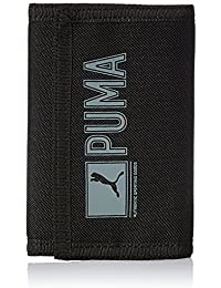 PUMA Pioneer Wallet, Black, 9 x 13 x 1 cm, 0,1 litro, 073471 01