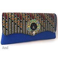 Azul - Bolsos de mano y de hombro / Ropa ... - Amazon.es