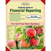 Students' Guide on Financial Reporting (CA Final New Syllabus): CA final New Syllabus- for May 2019 Exams