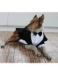 Hochzeitsanzug/-kleidung, großer Hund, dicker Hund, Smoking-Kostüme, Formelle Party-Outfits, passt Golden Retriever, Pitbull, Labrador, Samojede