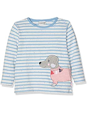 SALT AND PEPPER Baby - Mädchen Langarmshirt B Longsleeve Mon Amie Stripe