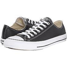 Converse Chuck Taylor Core Lea Ox, Zapatillas de Cuero Unisex