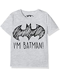 DC Comics Boy's I'm Batman Lrg T-Shirts