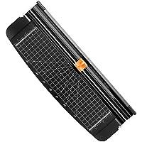Firbon cortadora de papel titanio 12 inch A4 cortador con automático Seguridad Safeguard (negro)
