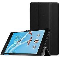 MoKo Funda para Lenovo Tab 7 Essential - Premium Ultra Ligera Lightweight Shell Cover Case para Lenovo Tab 7 Essential Tableta 2017 Release, Negro