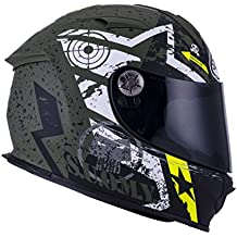 SUOMY SR Sport - Casco para Moto Integral, Multicolor (Stars Military), S