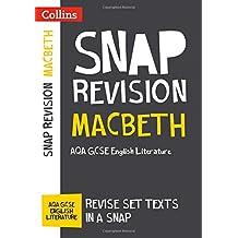 Macbeth: AQA GCSE English Literature Text Guide (Collins Snap Revision)