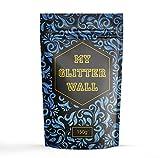 Blu 150g My glitter glitter da parete per emulsione vernice brillantini decorazioni murali perfetto per interni e esterni