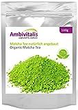 Ambivitalis Matcha-Tee aus natürlichem Anbau