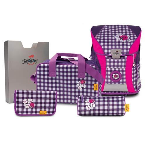 DerDieDas, Schultaschen-Set Mehrfarbig Mehrfarbig