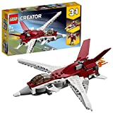 LEGO- L'avion Futuriste Creator Jeux de Construction, 31086, Multicolore