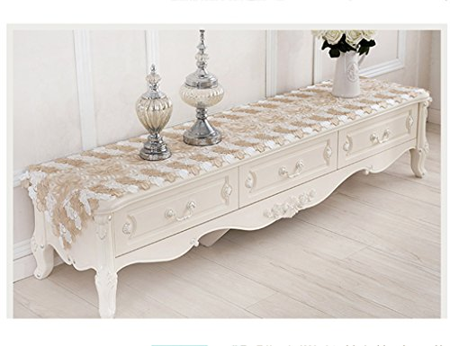 Table Runner Dentelle TV Cabinet Table Basse Rural Simple Continental Continental Table Runner ( taille : 40*70cm )