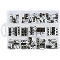ViD - Surtido 70 unidades palanca Pinzas 0,2-4 mm² variadas tipo UC - 02, 03, 05 en caja de plástico
