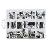 ViD - morsetti di collegamento assortimento di 70 pezzi misti a leva tipo UC - 02, 03, 05 in Sk di DV scatola di plastica