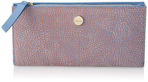 Borbonese Damen 950155648 Geldbörse, Blau (Mar), 20x9.6x1 centimeters