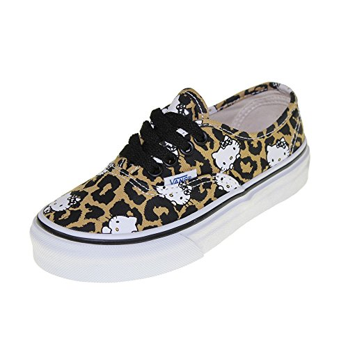 VANS Kids - Sneaker AUTHENTIC - Hello Kitty leopard true white, Dimensione:34