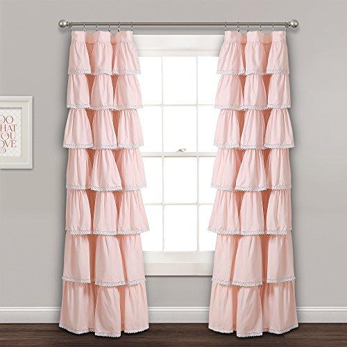 Lush Decor Vorhang Panel, Blush, 213,4x 132,1cm