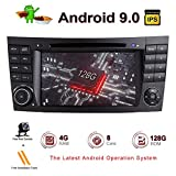 ZLTOOPAI Android 9,0 Octa Core 4G RAM 128G ROM Auto Multimedia-Player für Mercedes Benz E-Klasse W211 CLS W219 Mit 7IN HD Multi-Touchscreen Auto Stereo Auto GPS Radio DVD-Player