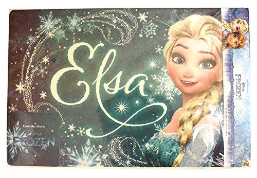 Disney Frozen Die Eiskönigin Tischunterlage und Untersetzer Set Tischset (Elsa)