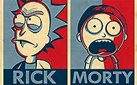 NBTop Sudaderas con Capucha Rick and Mortys 3