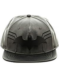 DC Comics Batman Suit Up Black Snapback Baseball Cap