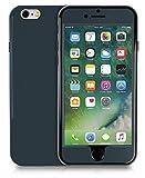 MyGadget Full Body Hülle für Apple iPhone 6/6s mit 360° Schutz Vorder & Rückseite - 2 Schalen Ganzkörper Case Hardcover mit TPU Bumper Stoßfest in Blau