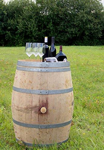 Barrique - Weinfass gebraucht H 95cm B 70cm Dekofass Holzfass - 1St