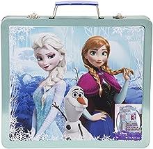Frozen - Caso para colorear metálico, diseño Elsa, Anna y Olaf (DFR-4158)