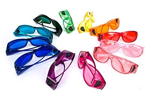 Farbbrillen Farbtherapiebrillen 12er Set Farbtherapie Brillen (Die Über Maschine Geistes)