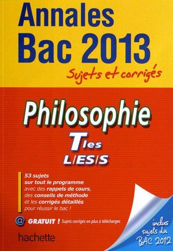 Philosophie Tles L/ES/S