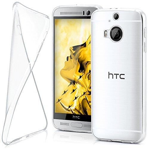 moex HTC One M9 Plus | Hülle Silikon Transparent Klar Clear Back-Cover TPU Schutzhülle Dünn Handyhülle für HTC One M9+ Plus Case Ultra-Slim Silikonhülle Rückseite