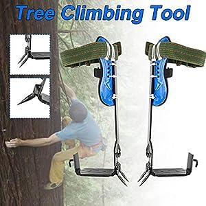 Baum Kletterausrüstung Set Baum Klettern Gurt Baumklettern Artefakt Kletterbaum Set Sicherheitsgurt Verstellbare Lanyard…