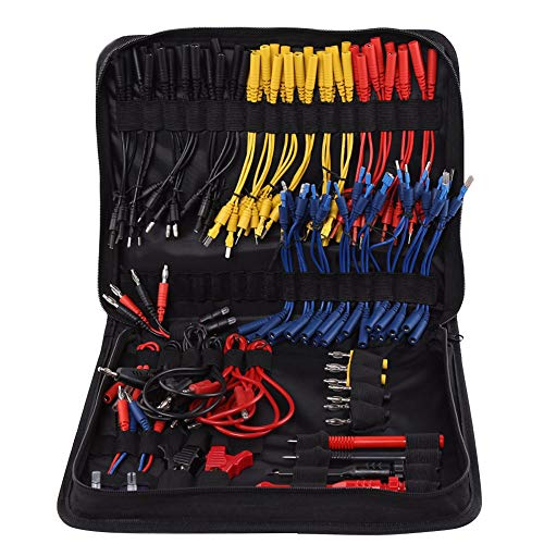 Test Wire Kit, langlebig, abriebfest, mit Aufbewahrungstasche, Elektrischer Service, Auto-Reparaturschaltung MST 08, professionelles Blei, Multifunktionswerkzeuge