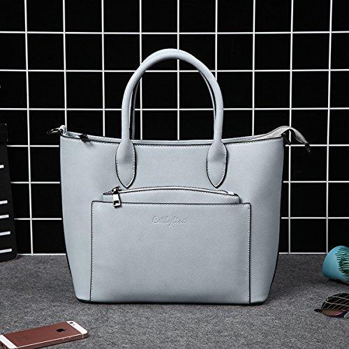 handtasche Große kapazität Lokomotive damen tasche Grau Blau