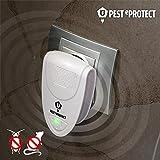 qtimber Pest eProtect Mini Schädlingsbekämpfer 7 x 10.5 x 7 cm lampada anti zanzare, candela insetticida