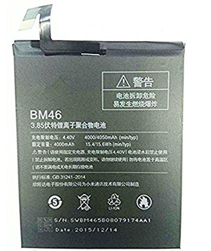 G n G Bm46 4000 mAh Mobile Battery For Xiaomi Redmi Note 3 (Black)